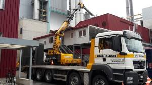 Containerdemontage Bakran 90S  mit Verlängerung